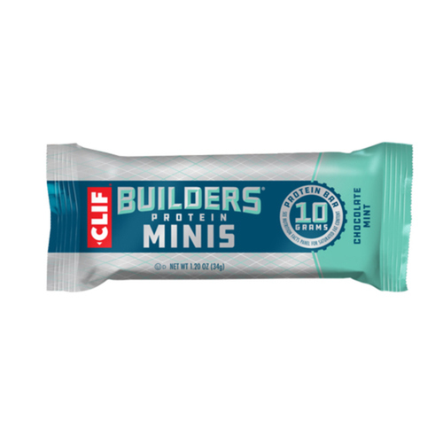 Clif Builders Minis Protein Bars Chocolate Mint 10 x 34 g