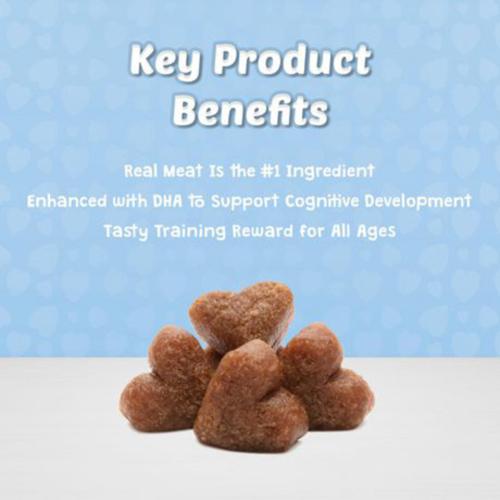 Blue Buffalo Bits Soft-Moist Salmon Recipe Dog Treats 113 g