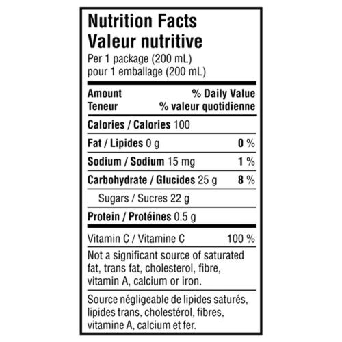 Minute Maid Juice Apple Grape 8 x 200 ml