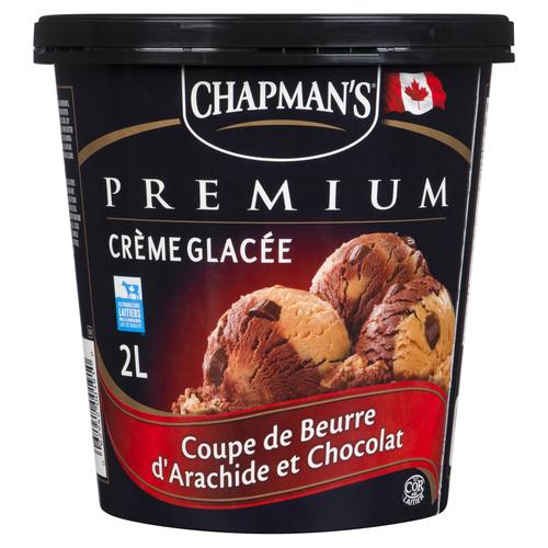 Chapman's Premium Ice Cream Chocolate Peanut Butter Cup 2 L