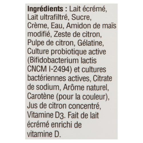 Danone Activia Yogurt Lemon 650 g