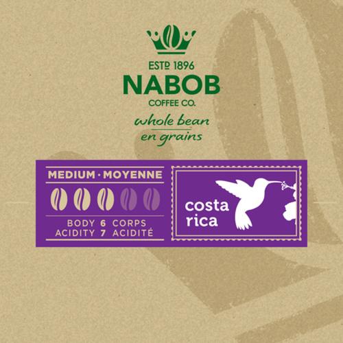 Nabob Costa Rica Whole Bean Coffee 300 g