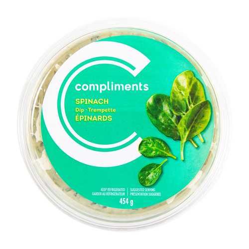Compliments Spinach Dip 454 g