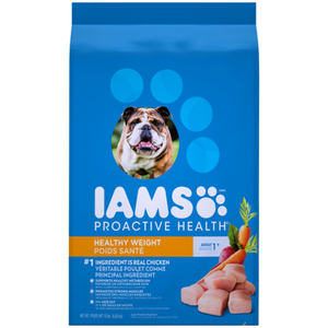 Iams Adult Healthy Weight Control Dry Dog Food with Real Chicken 6.8 kg
