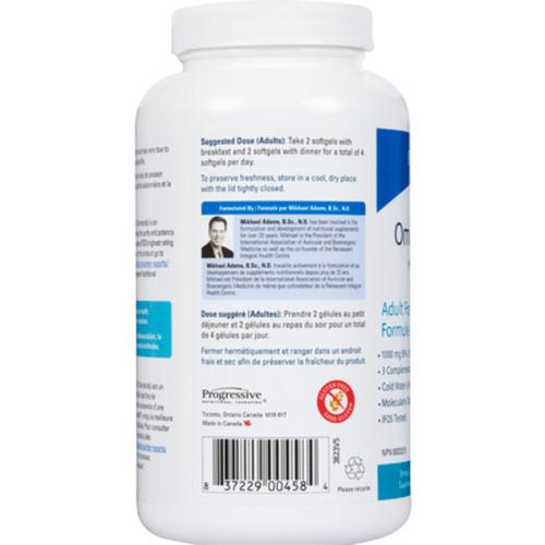 Progressive OmegEssential High Potency Fish Oil 120 Softgels