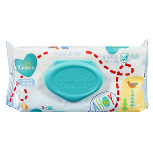Pampers Scented Baby Wipes 72 Sheets