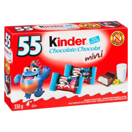 Kinder Halloween Chocolate Bars Mini 55 Pack 330 g