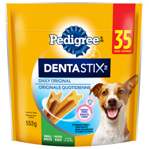 Pedigree Dentastix Oral Care Small Dog Treats Original Flavour 35 Sticks