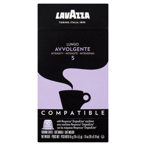 Lavazza Coffee Avvolgente Lungo 10 Nespresso Capsules 55 g