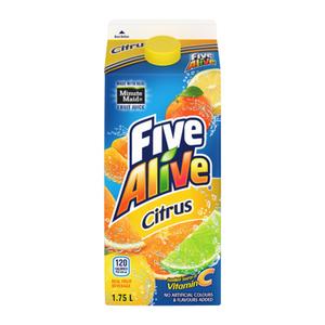 Five Alive Citrus Juice 1.75L