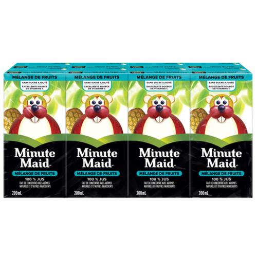 Minute Maid Fruit Blend Juice 8 x 200 ml