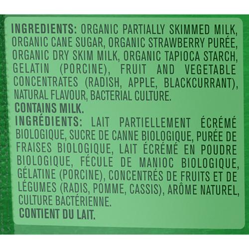Gerber Organic Toddler Snacks Yogurt Melts Red Berry 28 g