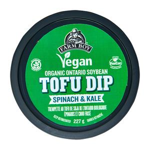 Farm Boy Vegan Organic Tofu Dip Spinach & Kale 227 g