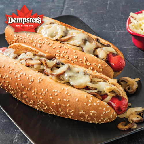 Dempster's Signature The Classic Sausage Buns 6 Pack 432 g