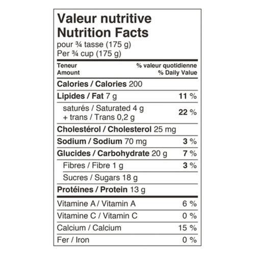 Liberte Greek 5% Yogurt Raspberry 650 g