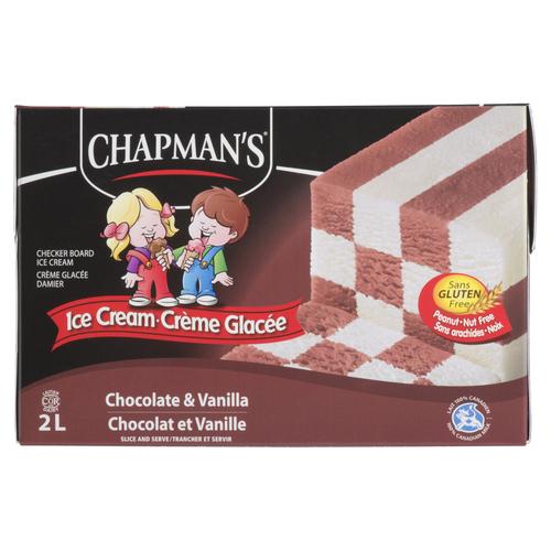 Chapman's Chocolate Vanilla Ice Cream 2 L