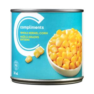 Compliments Whole Kernel Corn 341 ml