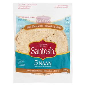 Santosh Naan Whole Wheat 500 g