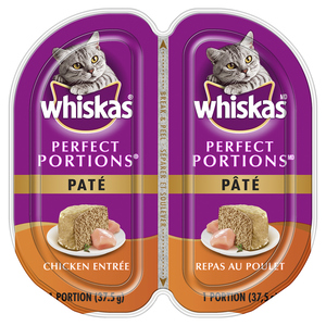 Whiskas Perfect Portions Chicken Cat Food 75 g