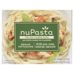NuPasta Gluten-Free Konjac Fettucine Pasta 210 g