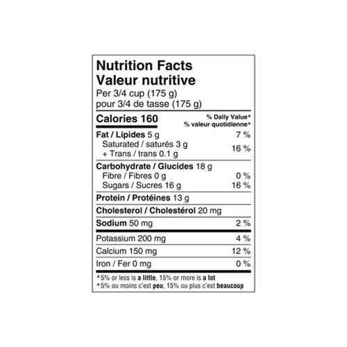 Danone Oikos Organic Greek Yogurt Vanilla 625 g