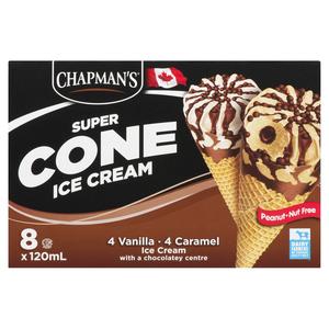Chapman's Chocolate Center Ice Cream Super Cone 960 ml