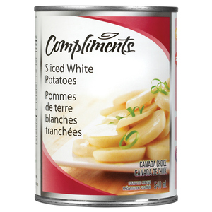 Compliments Sliced Potatoes 540 ml
