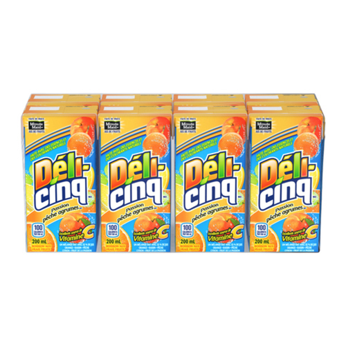 Five Alive Passionate Peach Citrus 200 mL, 8 pack