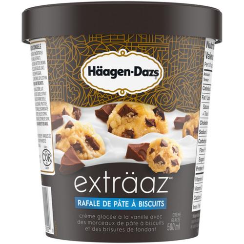 Häagen-Dazs Exträaz Ice Cream Cookie Dough Dynamo 500 ml