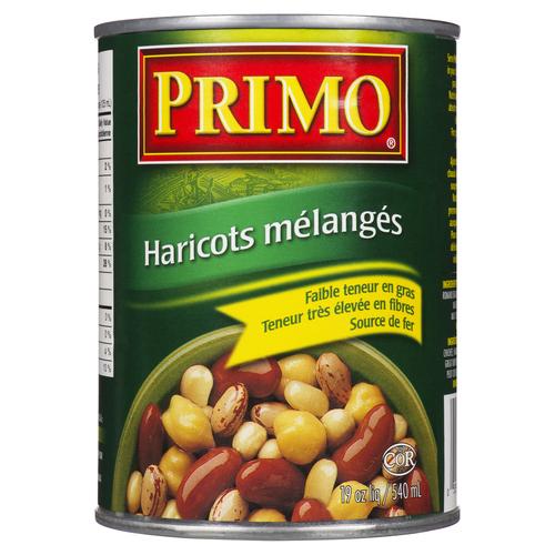 Primo Mixed Beans 540 ml