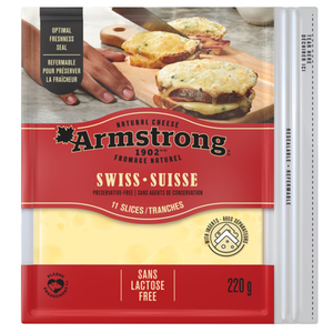Armstrong Swiss Cheese Slices 220 g