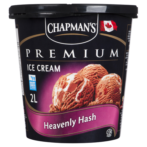 Chapman's Heavenly Hash Ice Cream 2 L