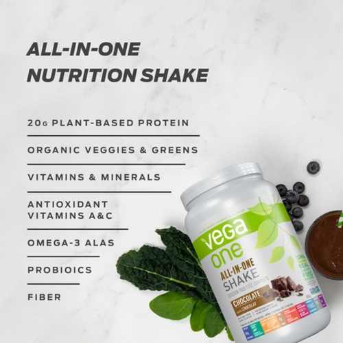 Vega One All-In-One Gluten-Free Protein Powder Mocha 418 g