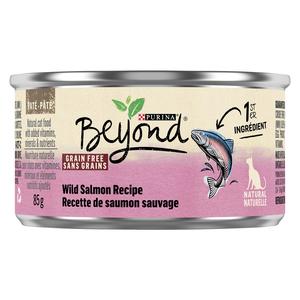 Beyond Grain Free Natural Wet Cat Food, Wild Salmon 85 g