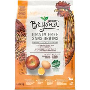 Beyond Grain Free Dry Dog Food, White Meat Chicken & Egg 1.36 kg