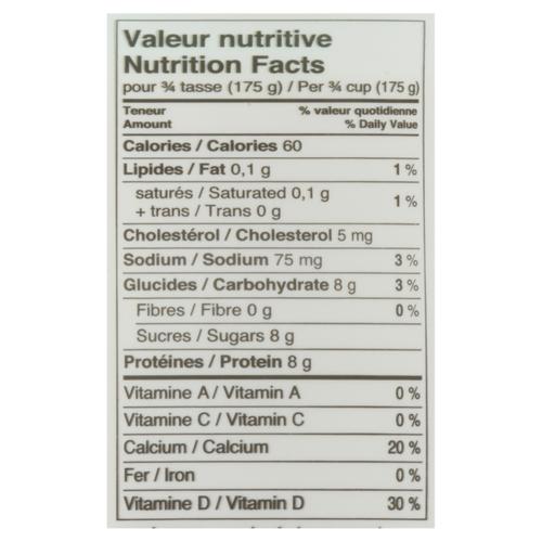 Riviera 0% Yogurt Plain Set Style 750 g