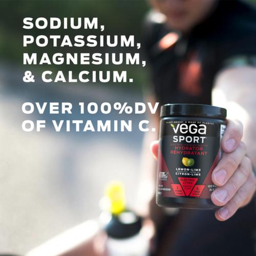 Vega Sport Electrolyte Hydrator Lemon Lime Single Serve