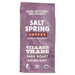 Salt Spring Organic Coffee Village Trade Dark Roast 400 g