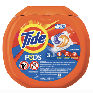 Tide Laundry Detergent Pods Original 42 Pacs 967 g