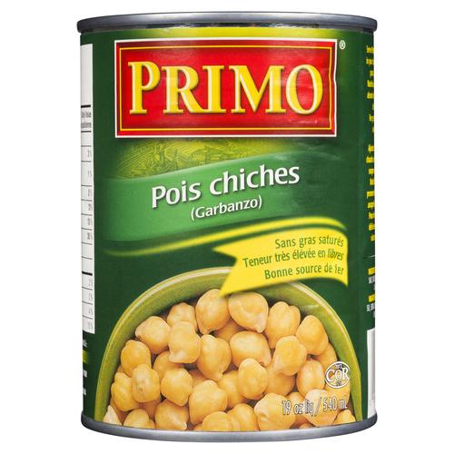 Primo Chick Peas Tin 540 ml