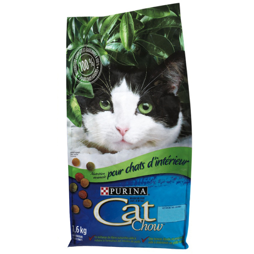 Purina Cat Chow Cat Food Advanced Nutrition For Indoor Cats 1.6 kg