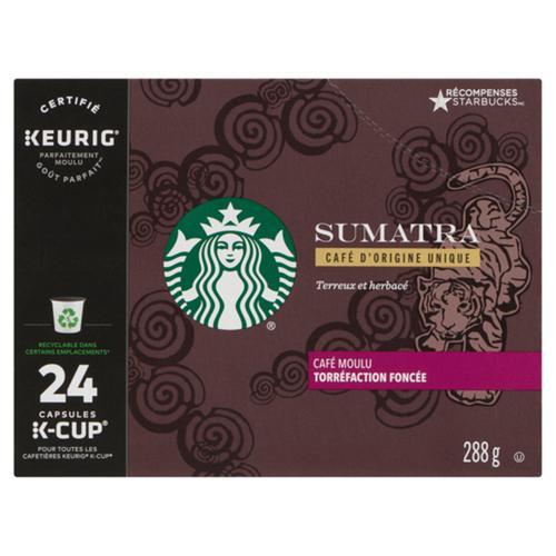 Starbucks Sumatra Dark 24 K-Cups