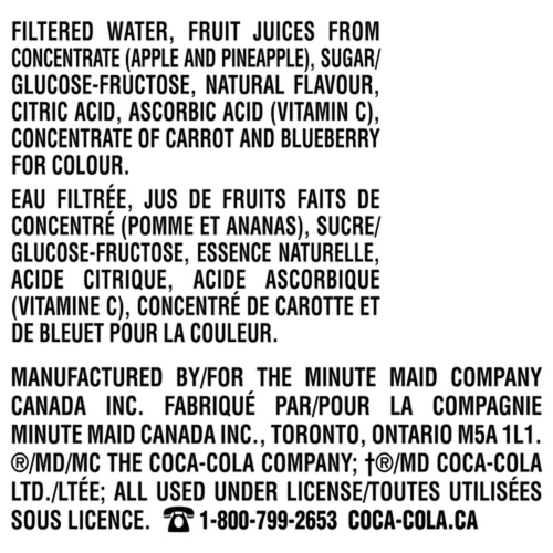 Fruitopia Fruit Intregration 1.75L