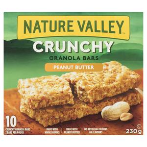 Nature Valley Crunchy Peanut Butter Granola Bars 230 g
