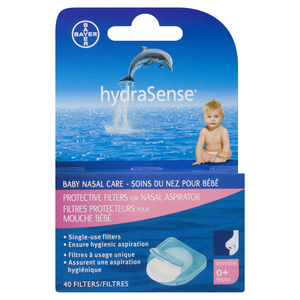HydraSense Protective Filters 40 EA