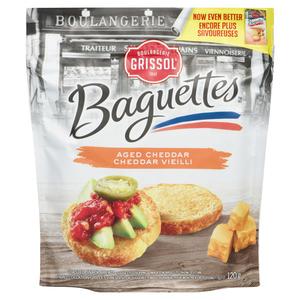 Grissol Aged Cheddar Baguettes 120 g