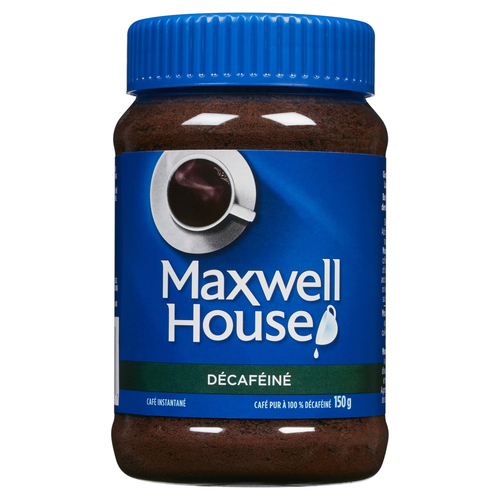 Maxwell House Instant Coffee Decaf 150 g