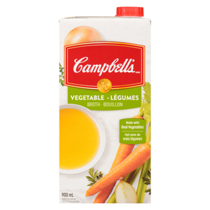 Campbell's Vegetable Broth 900 mL