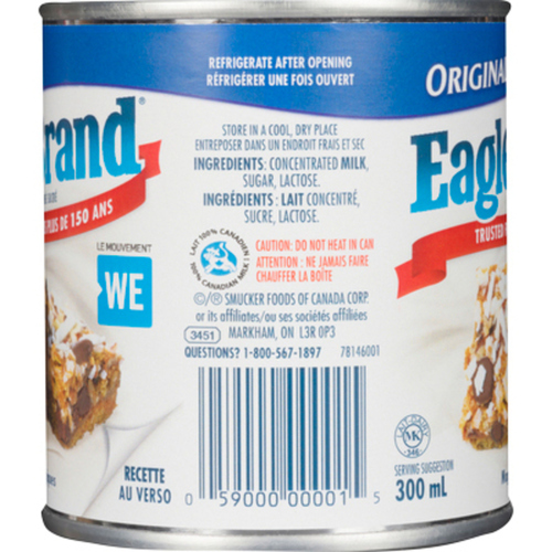 Eagle Brand Sweetened Condensed Milk 300 ml