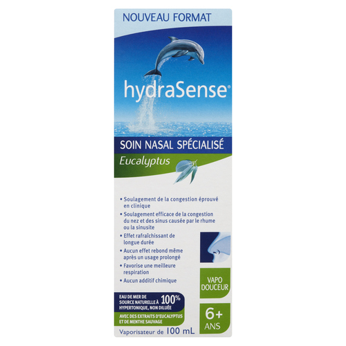 HydraSense Eucalyptus Nasal Mist 100 mL